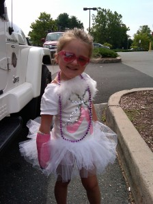 """Skylar in her outfit to go on """"missions"""" with me in Jul. 2010"""