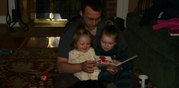 Reading Elmo to Sky with Kaitlyn