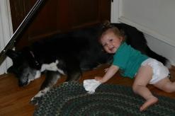 Kaitlyn and her best friend, Kokie